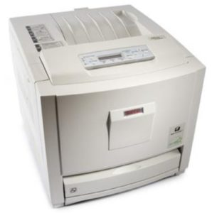 Ricoh Aficio CL3500N Color Laser Printer
