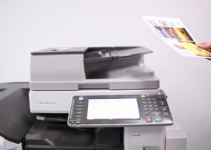 How To Scan A Document Using Ricoh Printer